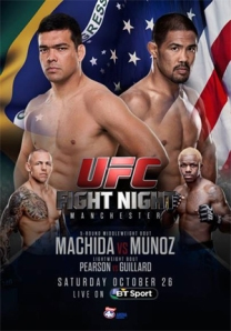 UFC Fight Night 30 poster