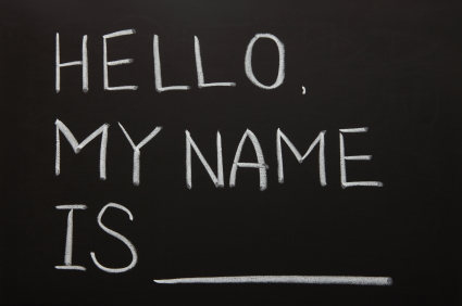 What's in a Name? (2/2)
